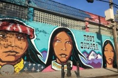 The faces of Hunts Point murals